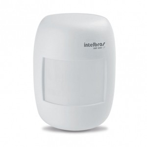 Sensor Infravermelho Com Fio Para Alarme 115° IVP 3000 CF - Intelbras