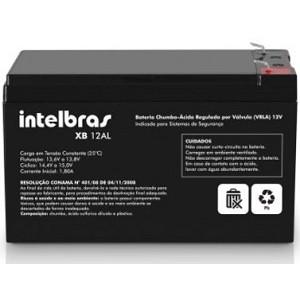Bateria Selada 12V 7Ah Para Sistemas de Segurança XB 12AL - Intelbras