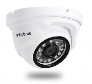 Câmera IP Dome VIP 1220 D 2,8mm 20m 1080P Full HD 2MP - Intelbras