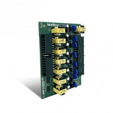 Placa 8 Ramais Balanceada p/ Central de Portaria Comunic 16/48 - Intelbras