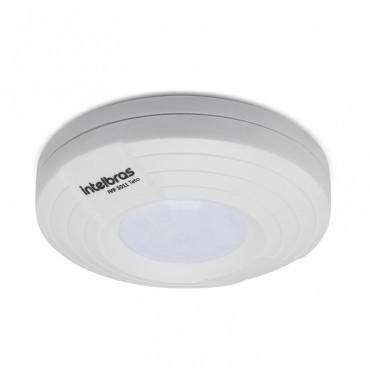 Sensor Infravermelho Com Fio Para Alarme 360° IVP 3011 Teto - Intelbras