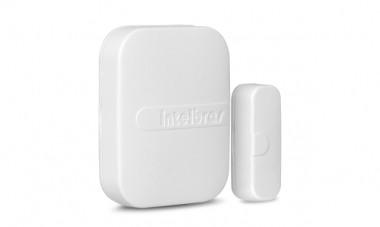 Sensor de Abertura Sem Fio Para Alarme XAS-4010 Smart - Intelbras