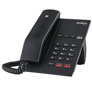 Telefone IP c/ Áudio HD TIP 120 POE - Intelbras