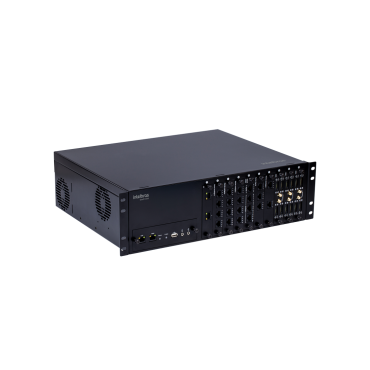 Central Telefônica Híbrida UnniTI 3000 - Intelbras