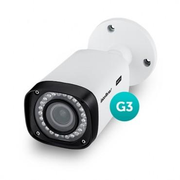 Câmera HDCVI Bullet VHD 3140 VF G3 2,7-12mm 40m 720P HD - Intelbras