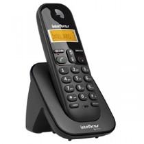 Telefone Sem Fio (Ramal) Com Identificador De Chamadas TS-3111 Preto - Intelbras