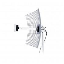 Antena de Internet Grade 2.4GHz 20dBi com 1m de Cabo MM-2420F1 - Aquário