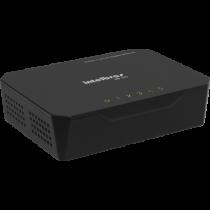 Switch 5 Portas Preto Ethernet 10/100/1000 SG 500 - Intelbras