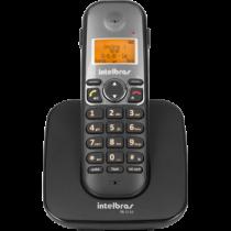 Telefone Sem Fio Com Identificador e Entrada Para Fone/Headset Ts 5120 Preto - Intelbras