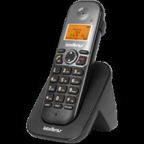 Telefone Sem Fio (Ramal) Com Identificador e Entrada Para Fone/Headset TS-5121 Preto - Intelbras