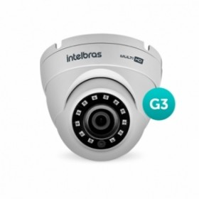 Câmera MultiHD Dome VHD 3220 D G3 3,6mm 20m 1080P Full HD - Intelbras