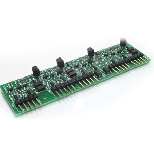 Placa Ramal Desbalanceada para Central Conecta Mais / Modulare Mais 4 Ramais Analógicos - Intelbras