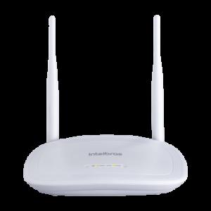 Roteador Wireless 300Mbps 5dBi IPV6 2 Antenas IWR 3000N - Intelbras