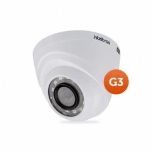 Câmera Multi HD Dome VHD 1120 D G3 2,8mm 20m 720P HD - Intelbras