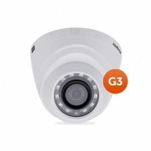 Câmera Multi HD Dome VHD 1010 D G3 3,6mm 10m 720P HD - Intelbras